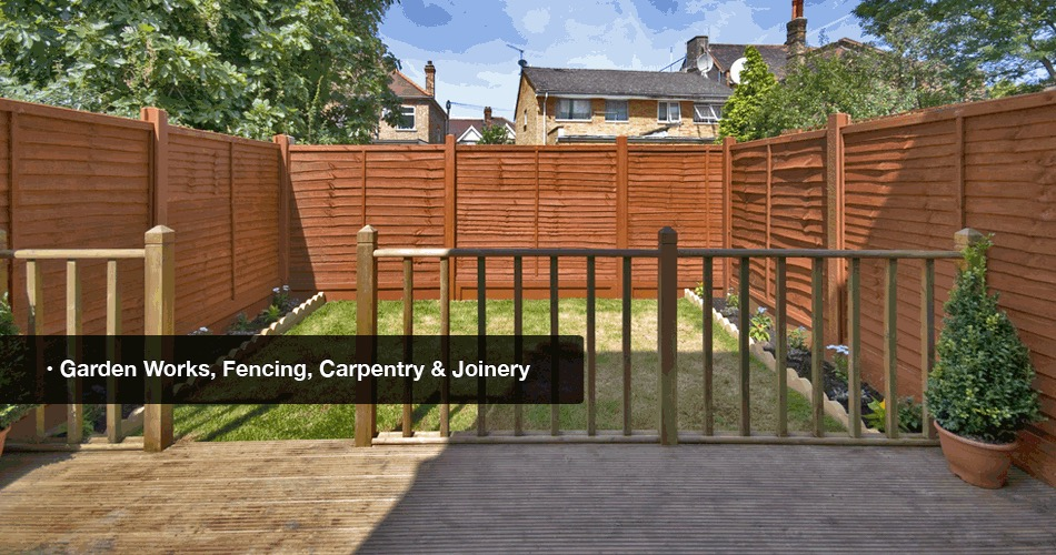 Wide range of garden and landscaping services